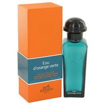 EAU D'ORANGE VERTE by Hermes Eau De Cologne Spray Refillable (Unisex) 1.... - $187.90