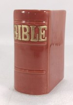 Relpo Bible Planter Vase Brown Gold Letters Ceramic  - ₹1,011.89 INR