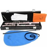 Ammoon Western Concert Flute 16 Holes C Key Woodwind Instrument Set - $132.80