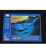 MOONLIGHT CALM Jigsaw Puzzle 19x14 Sure-Lox 500 pieces - $13.95