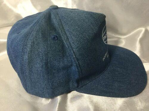 Vintage Denim Modern Welding Co. Cloth SnapBack Hat Cap Made In USA image 5