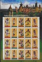 USPS Scott 3072-3076 Sheet Stamps MNH 1996 American Indian Dances 20x32 - $14.87