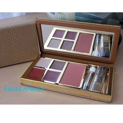 Primary image for Estee Lauder Blush Lipstick Eyeshadow Nude Rose Tiger Eye Sunstone Cinnamon Rose