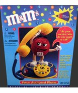 M&M's Voice Activated Phone New Still In Box - $98.99