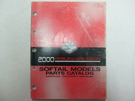 2000 Harley Davidson Softail Models Motorcycles Parts Catalog Manual OEM - $44.50