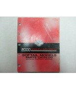 2000 Harley Davidson Softail Models Motorcycles Parts Catalog Manual OEM - $44.50