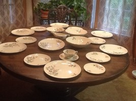 Rare Knowles China Sweetheart Rose Set Vintage Shabby Chic Nice - $120.77