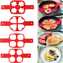 Pancake Maker Nonstick Cooking Tool Egg Ring Cheese Cooker Pan Flip Mold... - $8.58 CAD+