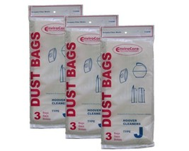 EnviroCare 9 Hoover Type J Canister Vacuum Cleaner Bags - $7.63