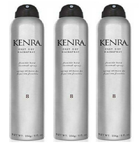 Kenra Fast Dry Hairspray #8, 8 Ounces (Pack of 3) Till 12/21/19 - $49.49