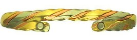 Path - Sergio Lub Copper Magnetic Therapy Bracelet - Handmade in USA! - MEDIUM