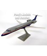 Embraer ERJ145 RJ-145 RJ145 ERJ-145 United Express 1/100 Scale Plastic M... - $29.69