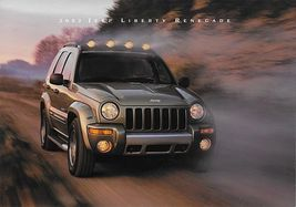 2002 Jeep LIBERTY RENEGADE sales brochure folder US 02 - $8.00