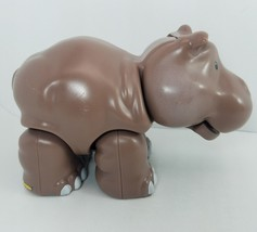 FISHER PRICE LITTLE PEOPLE HIPPO AT THE ZOO BURP MUNCH - $10.58
