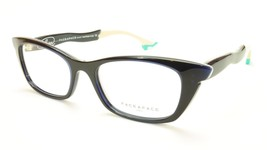 Authentic Face A Face Bocca Sixties 4 Col 734 Ink Blue Jean Turquoise Eyeglasses - $364.57