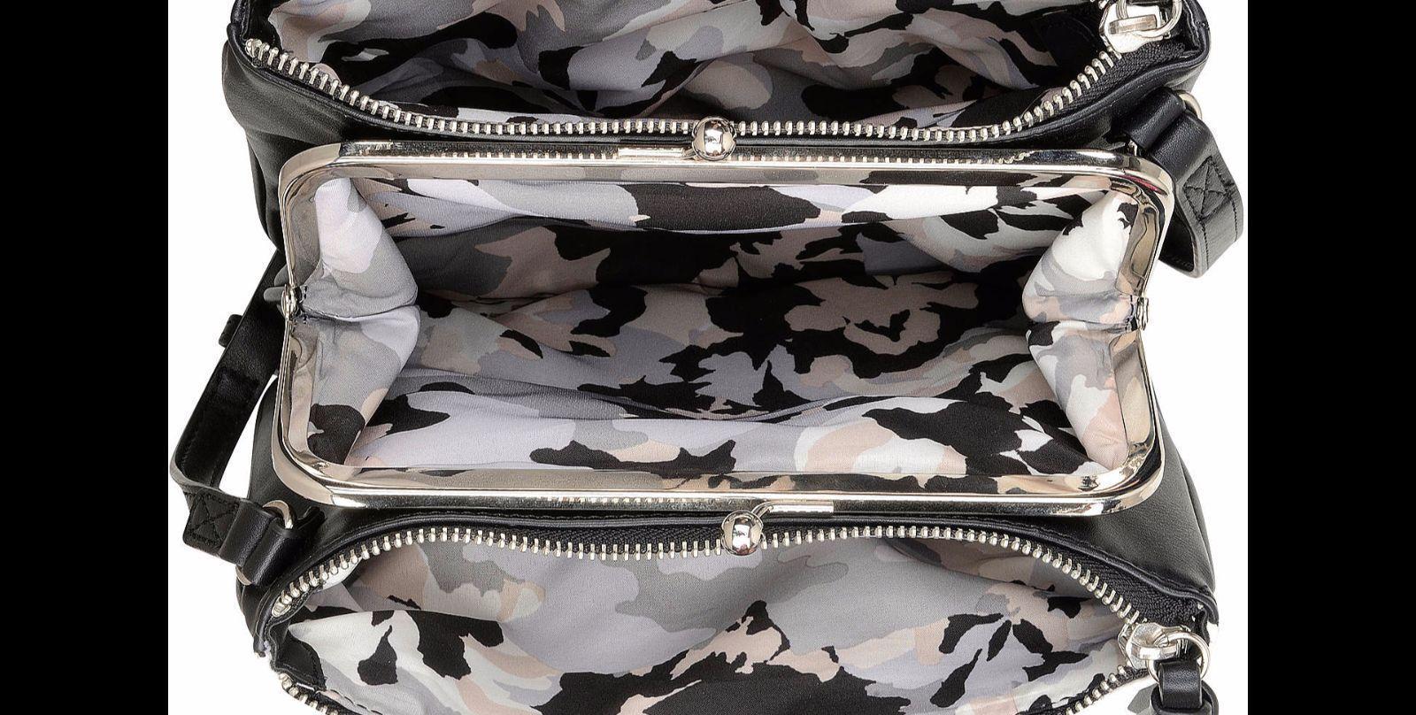 Nine West Nailed It Cross Body Bag, Black Multi, One Size Handbag image 3