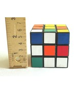 Vintage Original RUBIK'S CUBE Used unsolved 3x3 Squares   measures ~2.25... - $9.99