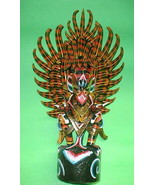 """Bali Handmade wood GARUDA carving from Indonesia Red or Black UNIQUE 24""""... - $272.25"""