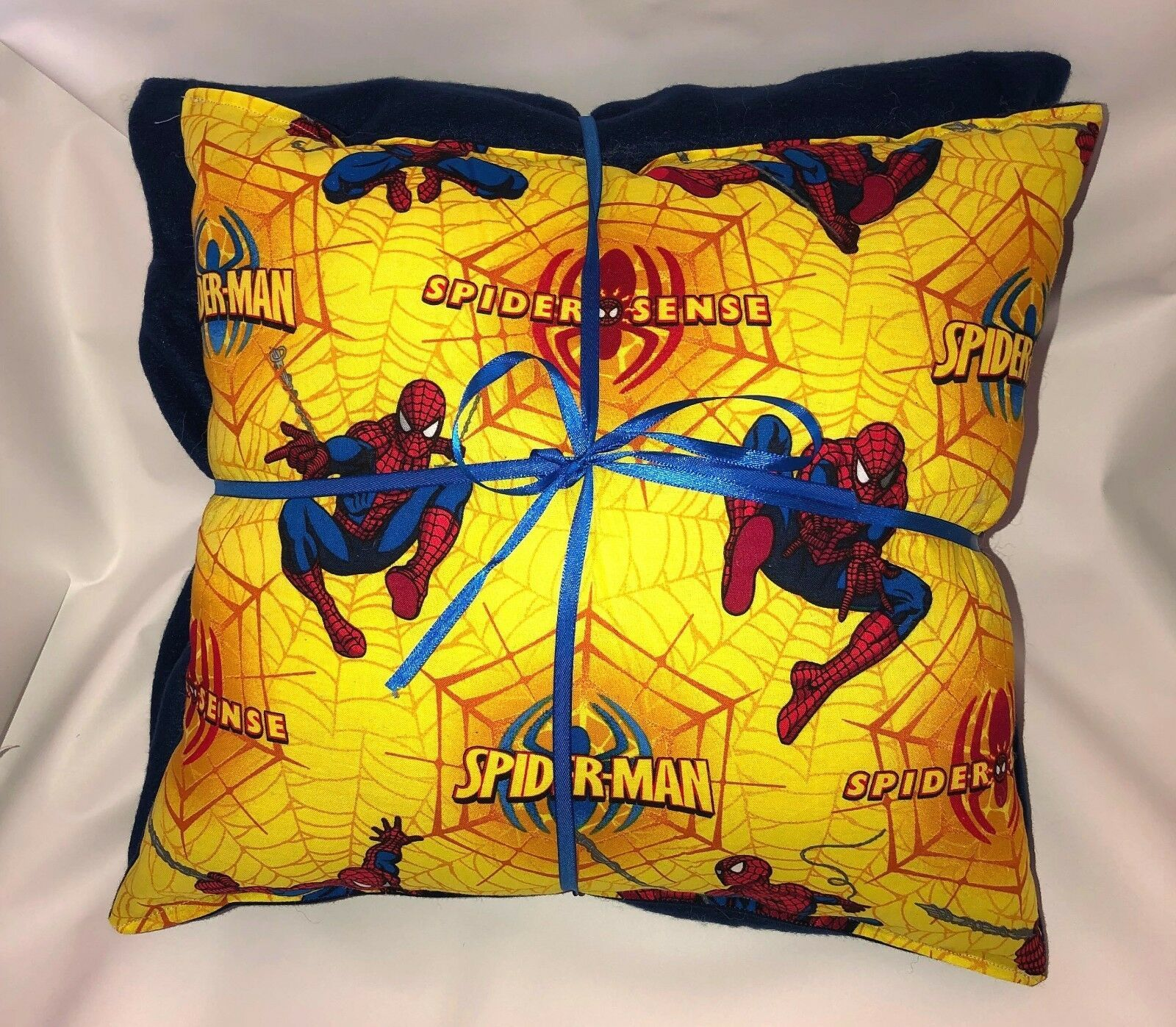 Spider-Man Pillow And Blanket Marvel Spider Man Yellow Pillow and Blanket Set