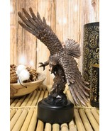 """9.25"""" Tall Wings of Glory Swooping Broad Winged Bald Eagle By Cliff Rock... - $37.99"""