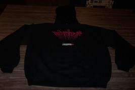 New York Dolls Hoodie Hooded Sweatshirt Xl Metal Band New - $49.50