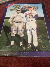 1994 Buffalo Bisons Baseball Program Collectors Cover Pilot Field - $6.79