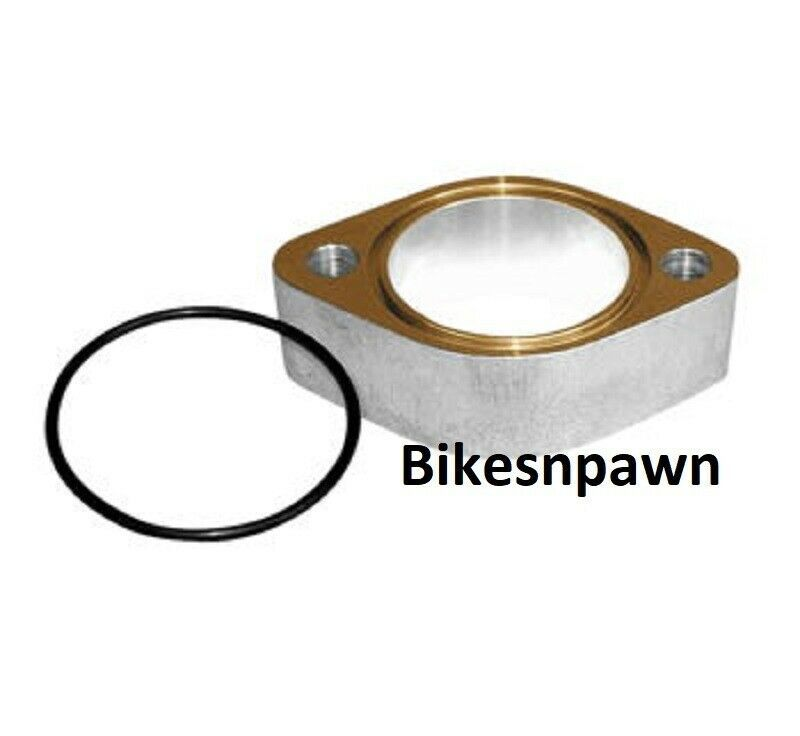 """New S&S Cycle 1"""" Carburetor Spacer for 2 1/16"""" Manifolds Big Twin or Sportster"""