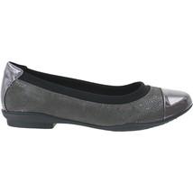 Womens Clarks Neenah Garden Dark Grey Narrow Width Comfort $95 Retail - $39.90