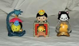 New Disney Tsum Tsum Pinochio Blind Bag Figaro Jiminey Cricket Cleo 7 Pc... - $16.82
