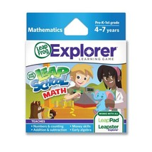 LeapFrog LeapSchool Math Learning Game works with LeapPad Tablets, Leaps... - $28.74