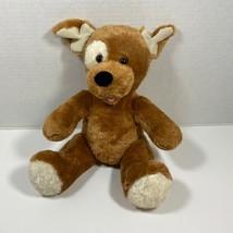 "Build a Bear Light Brown Sugar Pup 13"" Plush Stuffed Puppy Dog White Spo... - $9.72"