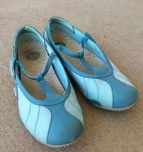 Merrell Relay Wire Aqua Blue Mary Jane Flats Women's Size 11 - $20.56