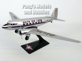 Douglas DC-3 Delta Airlines 1/100 Scale Model by Flight Miniatures - $29.69