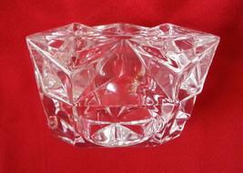 Partylite Quad Prism Crystal Votive And Tealight Holder Wedding Parties - $18.76