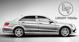 Mercedes E Class Stainless Chrome Pillar Posts by Luxury Trims 2014-2016... - $79.70