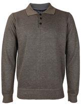 E-38 Italy Men's Slim Fit Luxury Wool Zip Up Pullover Hoodie Cardigan Sweater image 8