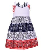 Bonnie Jean Little Girls Patriotic 4th of July Dress (5) - $29.39