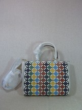 NWT Tory Burch New Ivory Small Robinson Embroidered Tote Bag $575 - $394.02