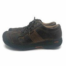Keen Footwear Mens Casual Shoes Brown Walking Hiking Lace Up Low Tops US... - $26.42