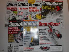 SnowGoer Magazine 7 2014 Issues - $19.00