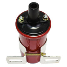 Oil-Filled Canister Style Female Remote Ignition Round Coil w/ Mounting Bracket image 5