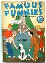 Famous Funnies #18 1935- Buck Rogers- Joe Palooka- POOR - $88.27