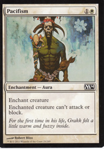Magic The Gathering Pacifism Card #25/249 - $0.99