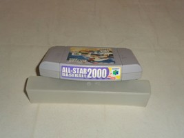 All-Star Baseball 2000, Game w/ End Label, Nintendo 64 - $11.99
