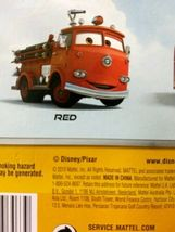 Sealed 2010 Mattel Pixar Disney Cars RED THE FIRETRUCK deluxe you figure  image 8