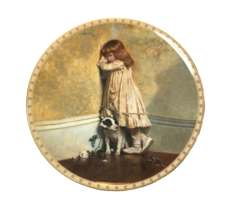 In Disgrace Collector Plate #1 in the Victorian Childhood Series Royal D... - $14.01