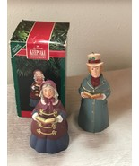 Lot of 2 Hallmark Fine Porcelain LORD CHADWICK Mrs. Beaumont Bell Tree O... - $10.39