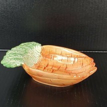 Vintage Fitz and Floyd Carrot Shape Dish Made in Japan Easter Serving Piece - $24.99