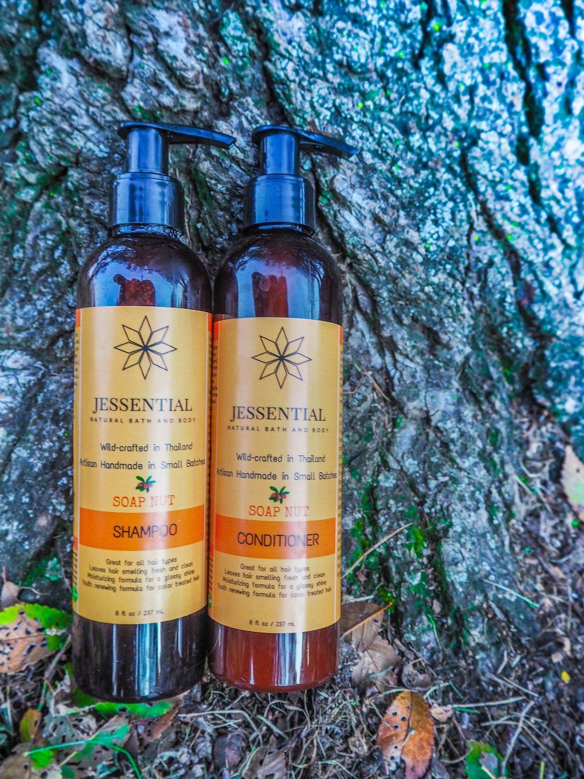 8oz Natural Vegan Shampoo For All Hair Types