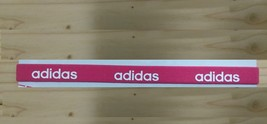 New Unisex Adidas Running HEADBAND Pink Adidas Logo One Size All Sports  - $6.00
